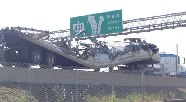 Eleven vehicles were involved in the June 24, 2016 pileup, including three transport trucks.