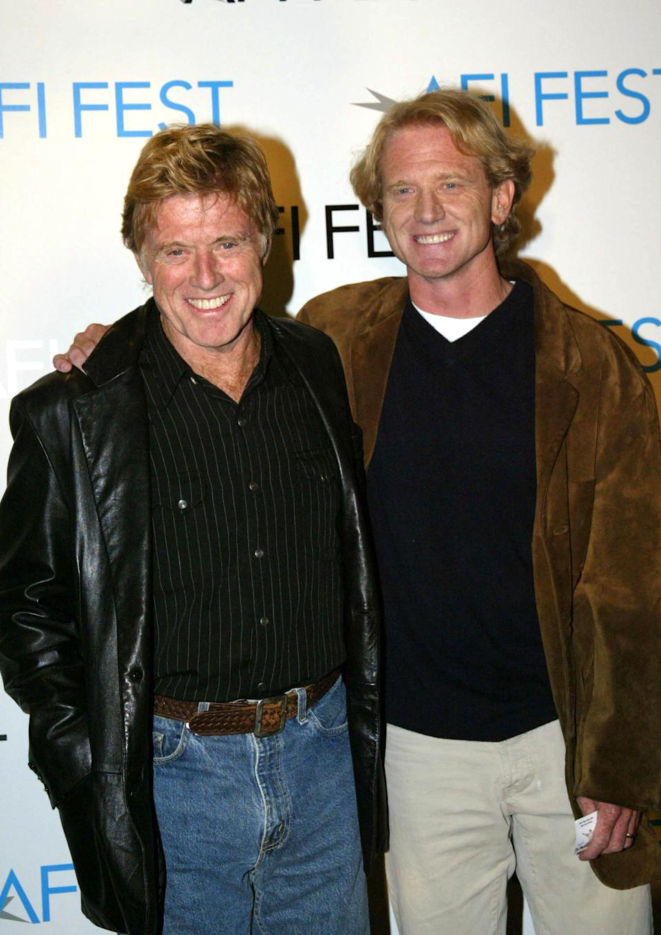 Robert Redford and James Redford