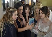 """<p>Rather than being stalked by a mysterious gossip blogger who wants to spill their secrets and exploit their lives, the teens on <strong><a class=""""link rapid-noclick-resp"""" href=""""https://www.popsugar.co.uk/Pretty-Little-Liars"""" rel=""""nofollow noopener"""" target=""""_blank"""" data-ylk=""""slk:Pretty Little Liars"""">Pretty Little Liars</a></strong> have a stalker with far more malicious intentions. With even more convoluted conspiracies and dramatic reveals than <strong><a class=""""link rapid-noclick-resp"""" href=""""https://www.popsugar.co.uk/Gossip-Girl"""" rel=""""nofollow noopener"""" target=""""_blank"""" data-ylk=""""slk:Gossip Girl"""">Gossip Girl</a></strong>, <strong>PLL</strong> and its well-dressed, unfairly hot cast will make any Upper East Side fan feel at home. </p> <p><strong>Where to watch: </strong><a href=""""https://www.hbomax.com/series/urn:hbo:series:GXdMTbQrnTaXCPQEAAA9W"""" class=""""link rapid-noclick-resp"""" rel=""""nofollow noopener"""" target=""""_blank"""" data-ylk=""""slk:HBO Max"""">HBO Max</a></p>"""