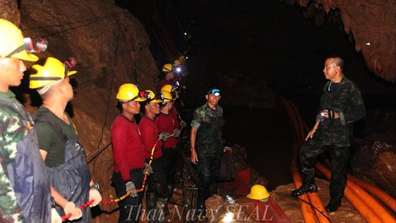 THAILAND ACCIDENT CAVE