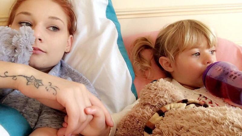 Zoe put her daughter up for sale on Facebook. Photo: Caters