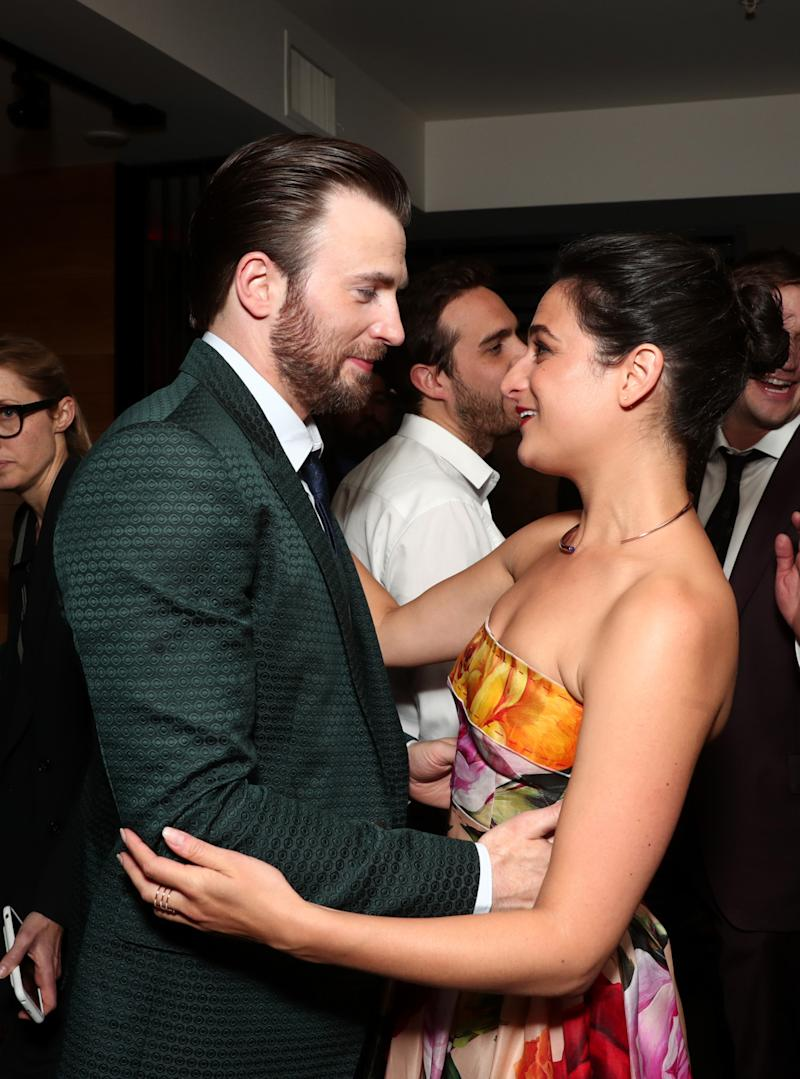 Chris Evans and Jenny Slate Are Hollywood's Friendliest Exes