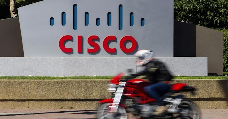 Cisco CEO talks up prospects after outlook warning slams the stock