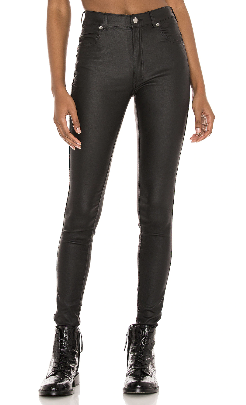 Dr. Denim Luxy Skinny, Revolve - $108 CAD/ $85USD as seen on Rachael Kirkconnell from