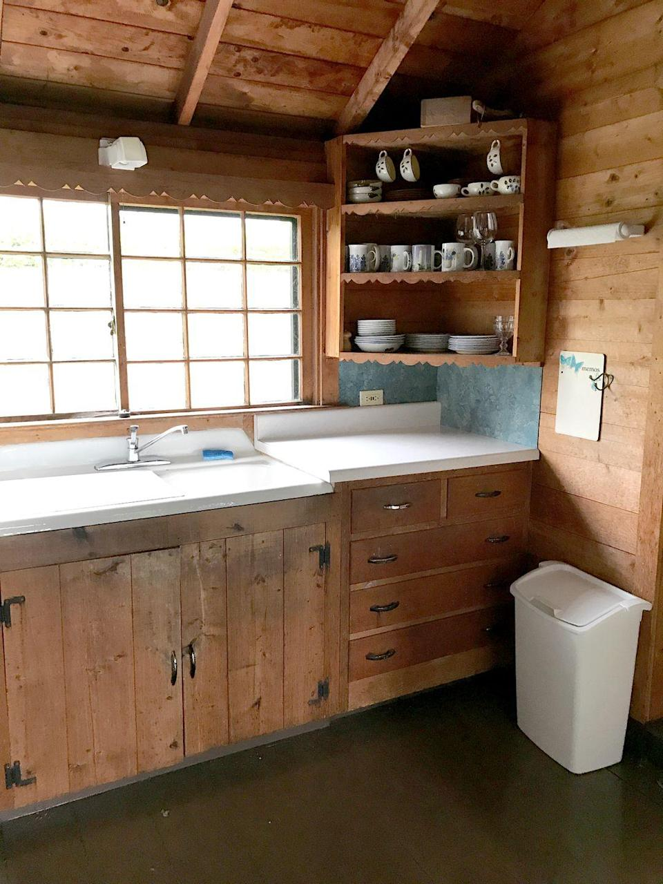 <p>While this kitchen is already pretty clean and tidy, it definitely looks more rustic and out of use. Plus, it could really use a paint job.The best news is that it only takes a few small updates to make a big difference without trampling all over its charming character. </p>