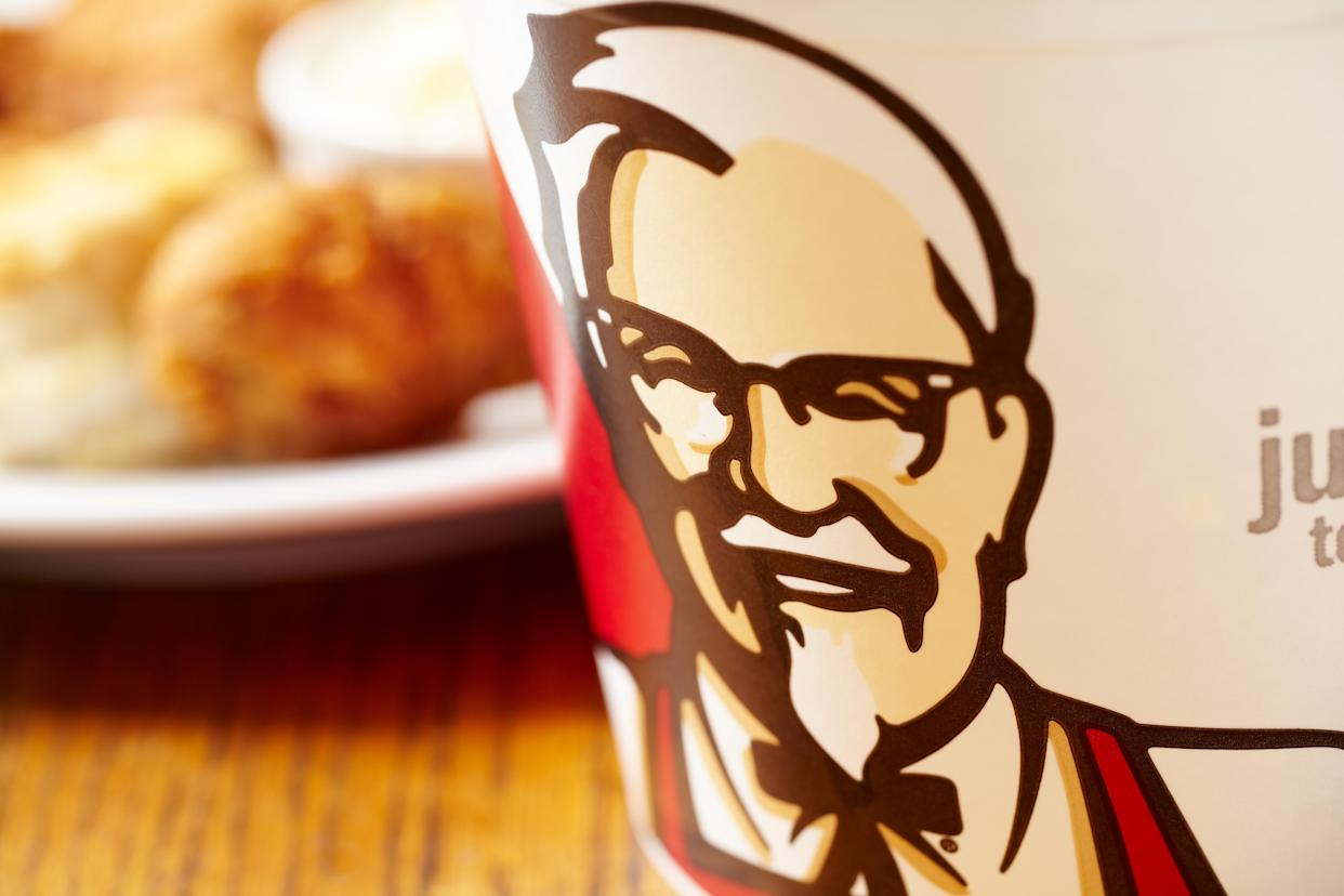 Some KFC stores in the UK are operating on a reduced menu. Photo: PA