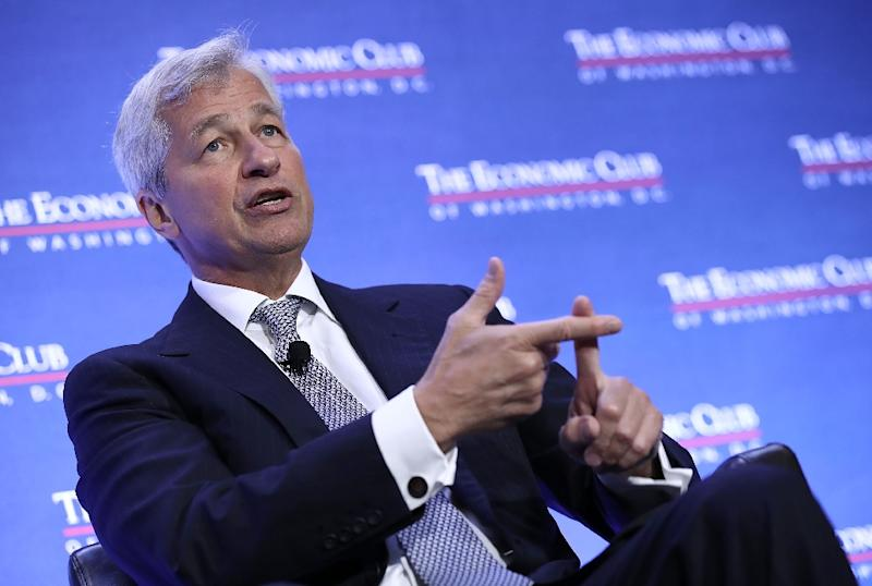 Jamie Dimon, chairman and CEO of JPMorgan Chase, backtracks after he says he could beat US President Donald Trump in an election