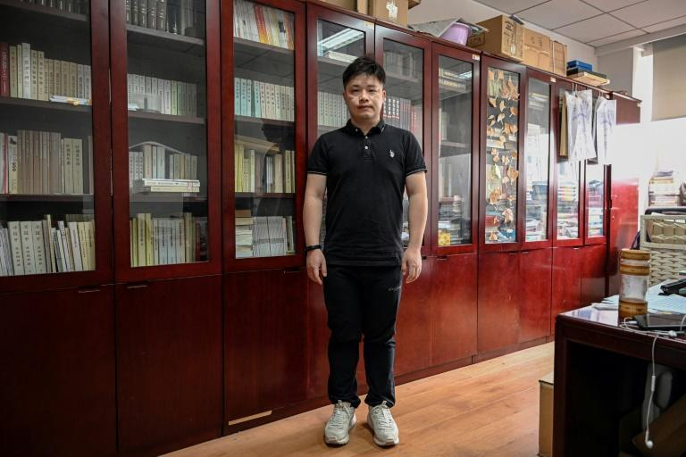 Historian Xu Jia joined the party in 2010 in his twenties, and now writes official reports in which he analyses Party history