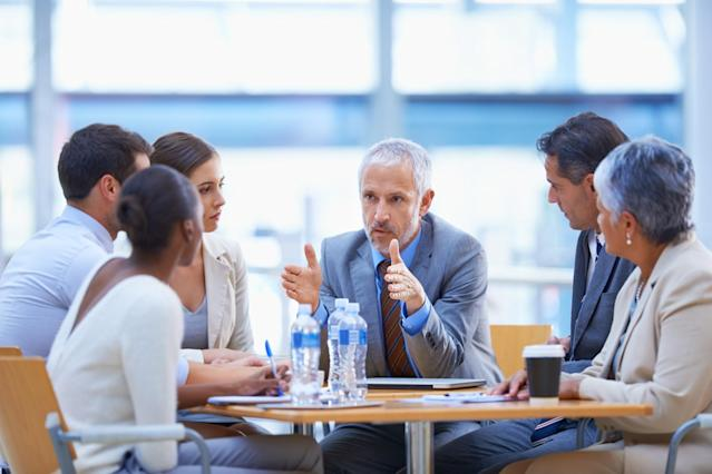 <p>No. 6 highest-paid job: Other manager in public administration<br>Average full-time hourly wage: $56.25<br>(Yuri_Arcurs / Getty Images) </p>