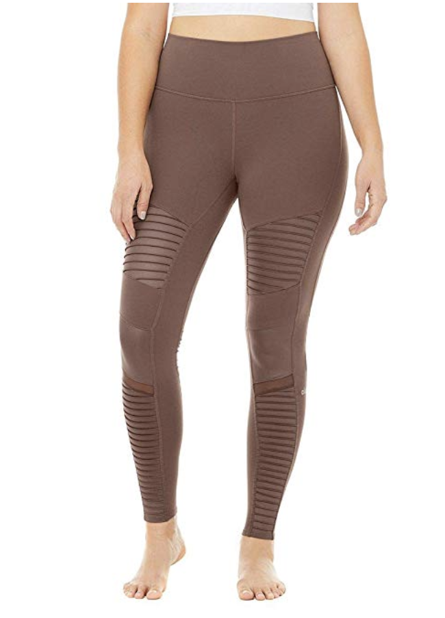 Alo Yoga Women's High Waisted Moto Legging. (Photo: Amazon)