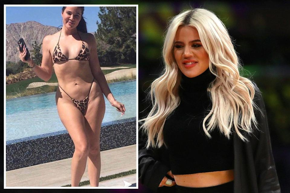 <p>Khloe Kardashian tried to remove the unfiltered social media image but it was only shared more widely by fans </p> (ES Composite)