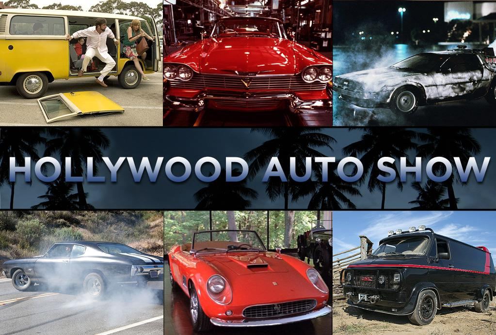 """With """"<a href=""""http://movies.yahoo.com/movie/1809427703/info"""">Faster</a>"""" coming out this weekend just as the LA Auto Show winds up, we've assembled some of the coolest rides in movies. Click ahead."""