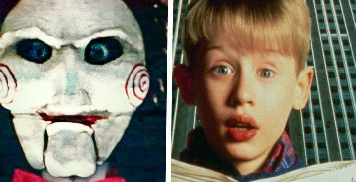 Do you see a resemblance between Jigsaw and Kevin McCallister? (Photo: Lionsgate; The LIFE Picture Collection/Getty Images)