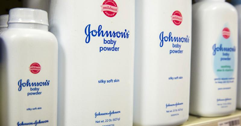 J&J drops 4% on report DOJ investigating allegations company lied about talc cancer risks