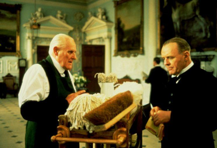 'The Remains of The Day,' Peter Vaughan with Anthony Hopkins, 1993