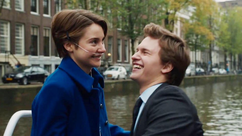 'The Fault In Our Stars'. (Credit: 20th Century Studios)