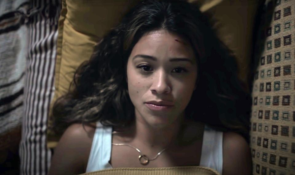 """<p>Noise is the enemy in <strong>A Quiet Place</strong>, but in <strong>Awake</strong>, poor Gina Rodriguez has to battle something even scarier: permanent insomnia. The movie is set after a strange catastrophe robs humans of their ability to fall asleep, and Jill's (Rodriguez) daughter may hold the key to saving humanity. However, Jill is far too fierce of a mama bear to simply hand her little girl over to science for the sake of the world. </p> <p><a href=""""https://www.netflix.com/watch/81040362?trackId=13752290"""" class=""""link rapid-noclick-resp"""" rel=""""nofollow noopener"""" target=""""_blank"""" data-ylk=""""slk:Watch Awake on Netflix."""">Watch <strong>Awake</strong> on Netflix.</a></p>"""