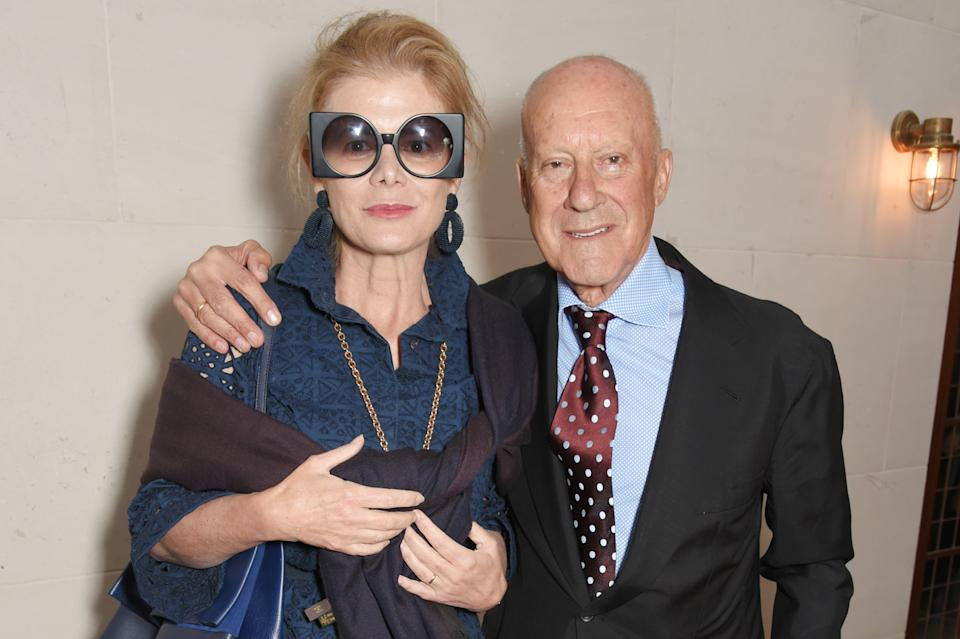 LONDON, ENGLAND - JUNE 05:  Elena Ochoa Foster (L) and Lord Norman Foster attend the launch of new book