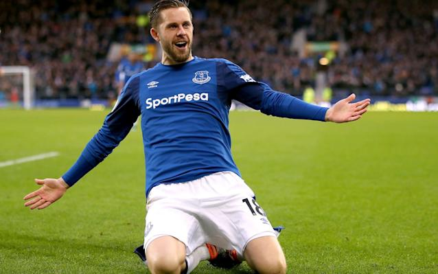 Gylfi Sigurdsson became Everton's club-record signing when they acquired him for £45m in the summer