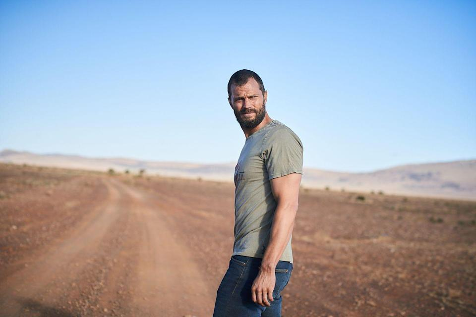 <p><strong>Release date: Late 2021 on BBC One</strong></p><p>Fans of The Missing and Liar, listen up! The same production company has been commissioned by the BBC and HBO Max to start production on a brand new six-part thriller set in the Australian Outback starring none other than Jamie Dornan. With the first on-set pictures being released last week.</p><p>The official synopsis reads: 'In the glowing red heart of the Australian outback, a British man is pursued by a vast tank truck trying to drive him off the road. An epic cat and mouse chase unfolds and The Man later wakes in hospital, hurt, but somehow alive. Except he has no idea who he is. With merciless figures from his past pursuing him, The Man's search for answers propels him through the vast and unforgiving outback.'</p><p>Also starring Daniella Macdonald (of Dumplin' and Ladybird fame) as probationary constable Helen Chambers, Line Of Duty's Shalom Brune-Franklin as waitress Luci, and Hollywood heavyweight Hugo Weaving as the high profile detective inspector on the case. We can't wait to watch this!</p>