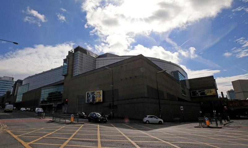 Manchester Arena.