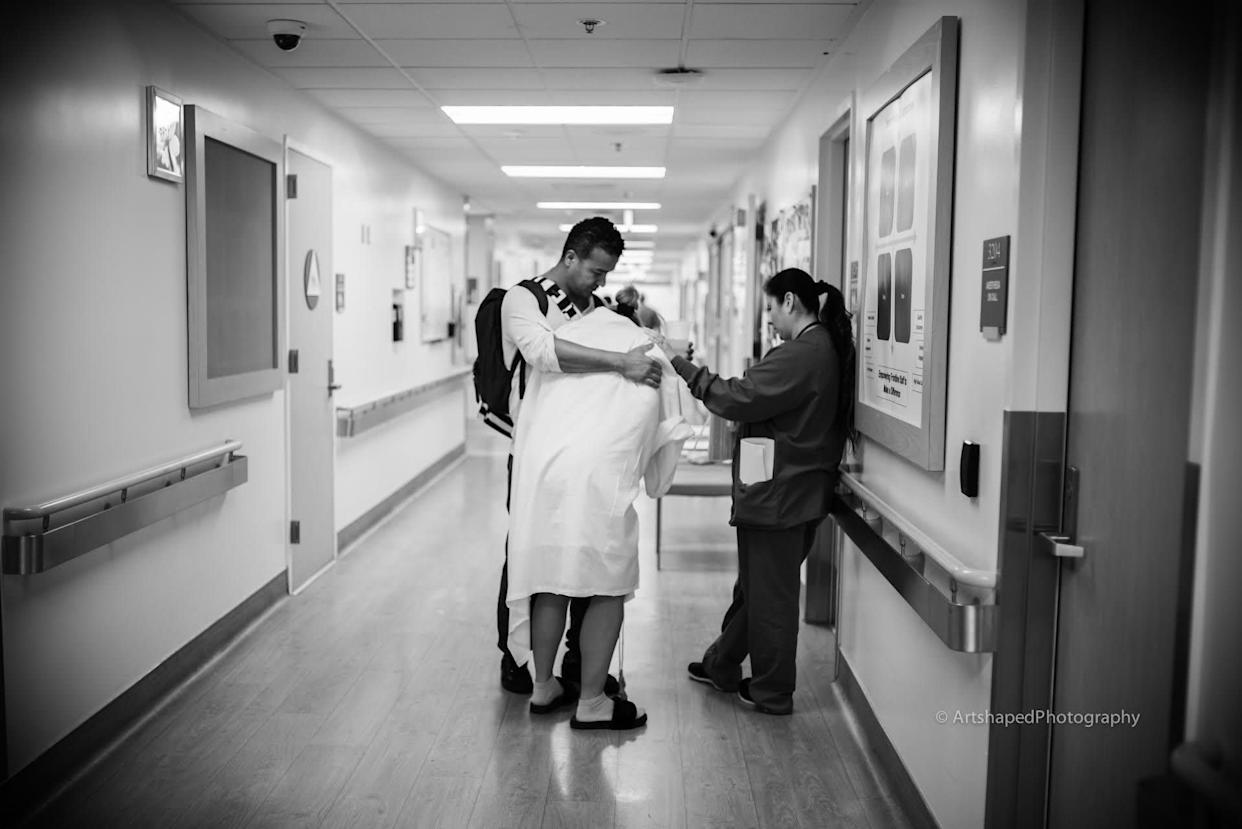 """""""Walking the L&D ward accompanied by a loving, emphatic and supportive nurse."""""""