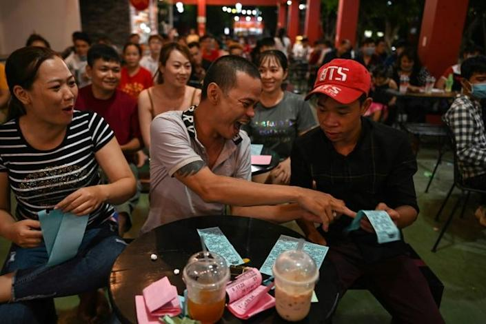 Much of the audience at the shows in Ho Chi Minh City and next door Binh Duong province is young (AFP Photo/Manan VATSYAYANA)