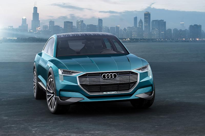 Audi's electric SUV, slated for a 2018 launch, will simply be called 'e-tron'