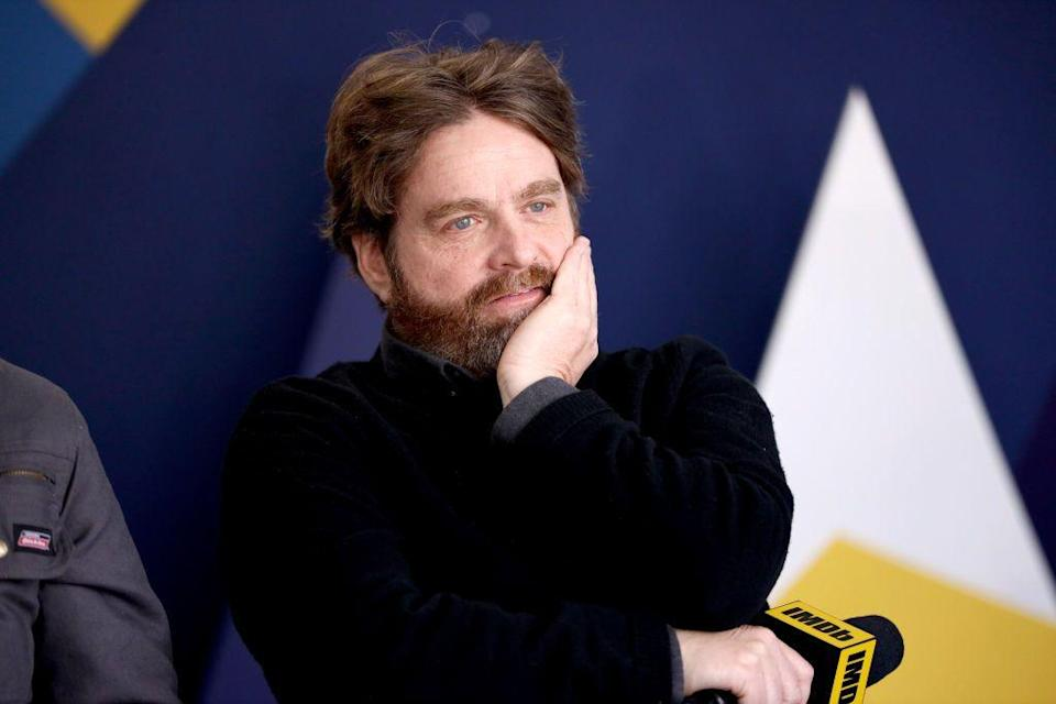 """<p>Growing up in Northern Carolina, comedian and star of the <em>Hangover</em> franchise, Zach Galifianakis, likely garnered some laughs while learning how to sew on patches as a member of the <a href=""""https://pilotonline.com/entertainment/celebrity/article_1c990ca6-7df9-53c9-b2a0-3d1acb09c737.html"""" rel=""""nofollow noopener"""" target=""""_blank"""" data-ylk=""""slk:Boy Scouts"""" class=""""link rapid-noclick-resp"""">Boy Scouts</a>.</p>"""