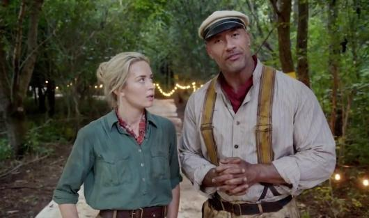 Watch 'Jungle Cruise' stars Dwayne Johnson and Emily Blunt zing each other with explosive allegations