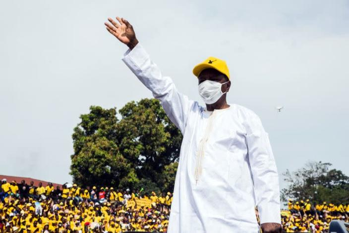 Voters await results of Guinea presidential election