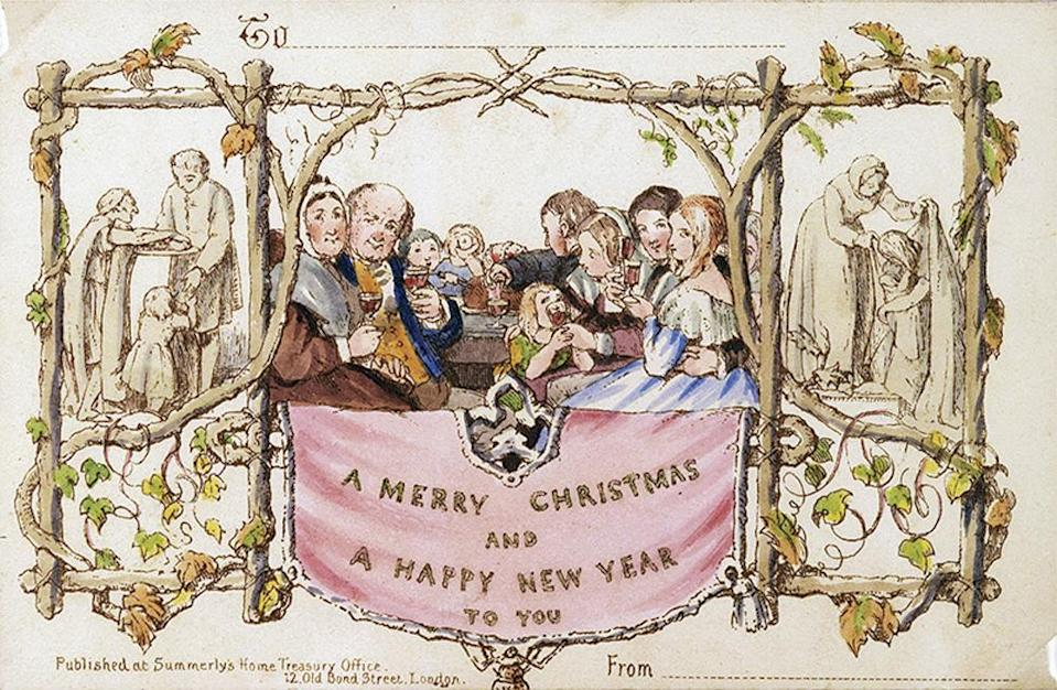 The card is 177 years old.