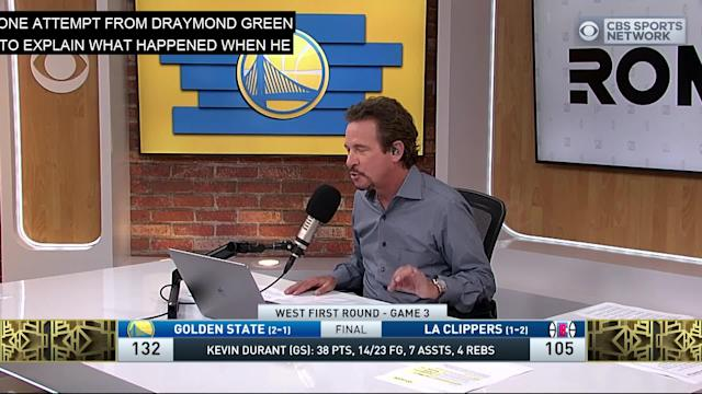 e5893e4f5110 Jim Rome gives his take on Kevin Durant s Game 3 performance versus the Los  Angeles Clippers