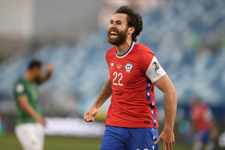 English-born Ben Brereton scored his first goal for Chile in only his second appearance after switching allegiance from England