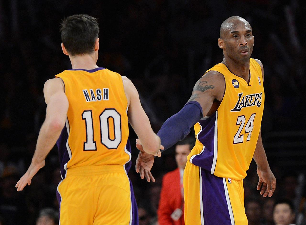 The Lakers are likely keeping Steve Nash, which means no big 2014 free agents