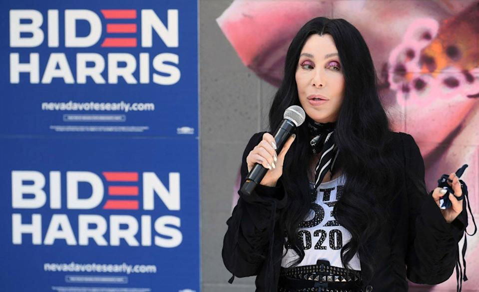 Cher Is 'Not Going to Watch TV' on Election Night — but Will Be 'Jumping All Over' if Joe Biden Wins