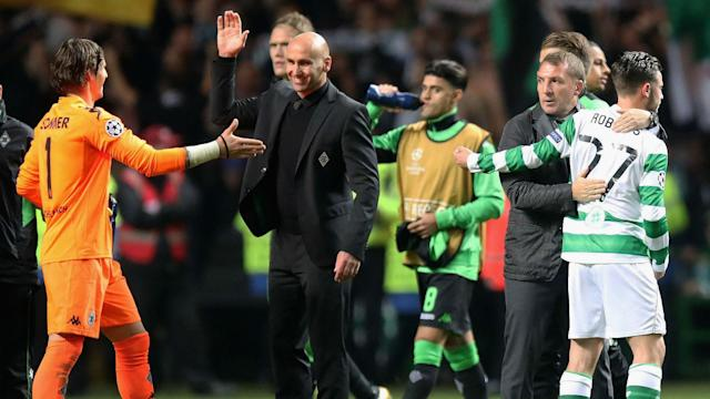 Andre Schubert was impressed by his injury-hit Borussia Monchengladbach squad after they sealed their first win in Champions League Group C.