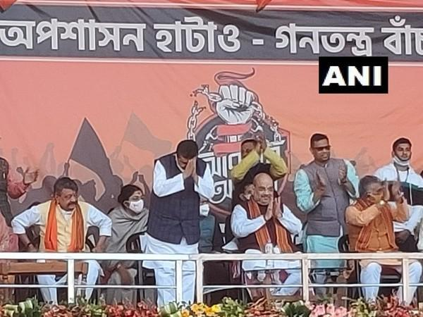 Former party leader Suvendu Adhikari joined Bharatiya Janata Party on Saturday in the presence of Home Minister and BJP leader Amit Shah.