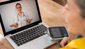 ZyterHome is a comprehensive, HIPAA-compliant RPM solution that enables provider practice physicians to monitor patient healthcare data between office visits, while patients manage their chronic conditions at home. Integrated with the ZyterHealth™ platform, ZyterHome consists of patient-facing, preconfigured LTE-enabled devices (blood pressure monitor, blood glucose monitor, digital weight scale) to seamlessly track and transmit a patient's physiological data to the physician's office.