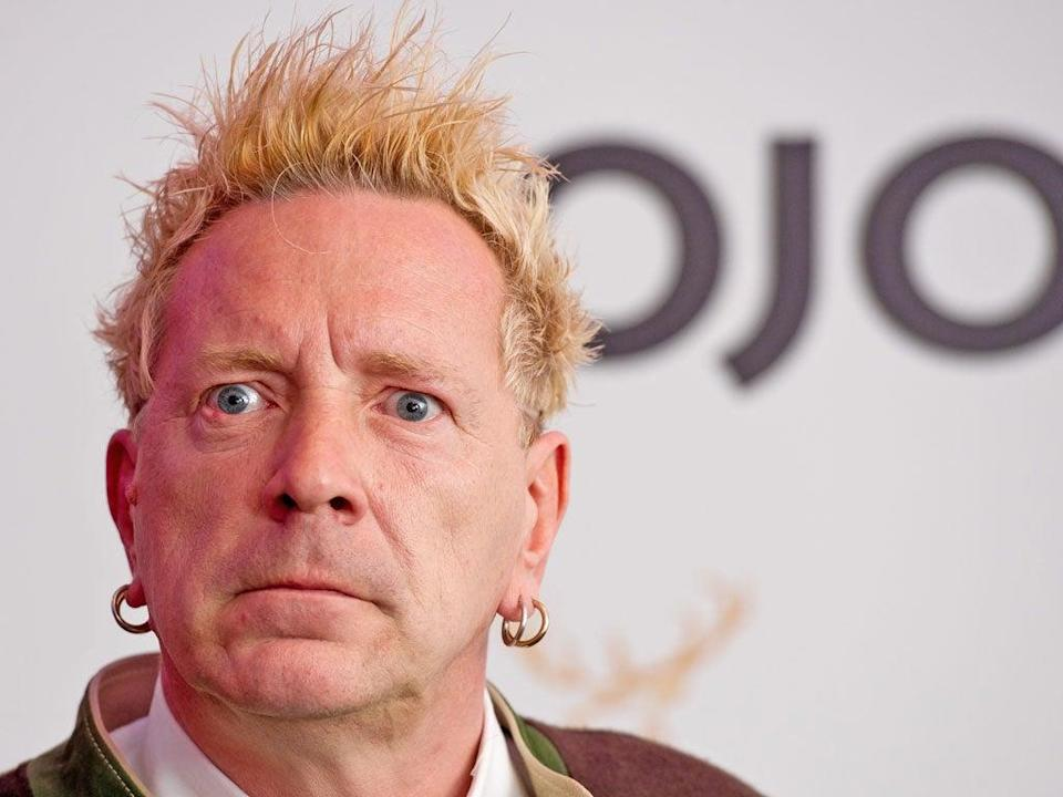 John Lydon had to rebuild his relationship with his parents after meningitis robbed him of his memory when he was seven (Getty Images)