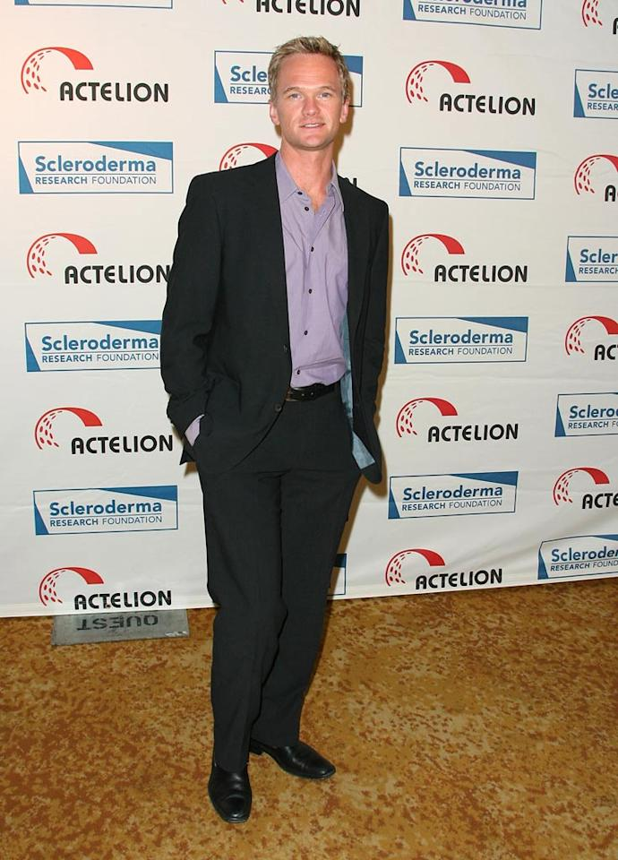 """""""How I Met Your Mother"""" star Neil Patrick Harris takes time out of his busy schedule to support a good cause. Jordan Strauss/<a href=""""http://www.wireimage.com"""" target=""""new"""">WireImage.com</a> - April 16, 2008"""