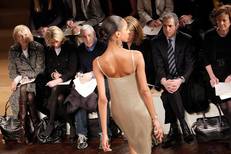 Ralph Lauren show. Photo: Getty