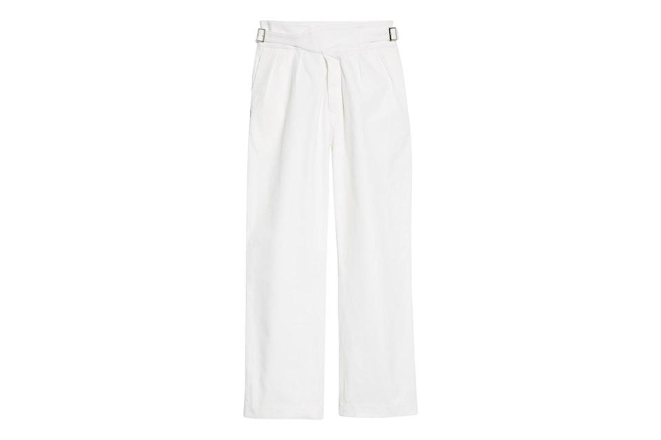 "$298, Nordstrom. <a href=""https://www.nordstrom.com/s/noah-twill-gurkha-pants-nordstrom-exclusive-color/5593391?origin=keywordsearch-personalizedsort&breadcrumb=Home&color=none"" rel=""nofollow noopener"" target=""_blank"" data-ylk=""slk:Get it now!"" class=""link rapid-noclick-resp"">Get it now!</a>"