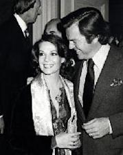Natalie Wood and Robert Wagner during Look Magazine Party at Jimmy's Restaurant in Beverly Hills, February 14, 1979 -- WireImage