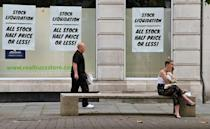 Britain's economy shrank more in the second quarter than any other country in the Group of Seven