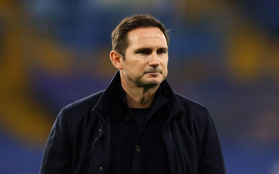 Frank Lampard's position as Chelsea manager is under fresh scrutiny following defeat at Leicester on Tuesday evening - PA