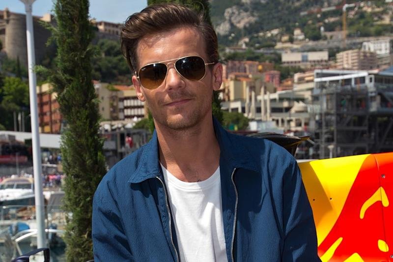 Angry: Louis Tomlinson has hit out at the 'losers' (Ben A. Pruchnie/Getty)