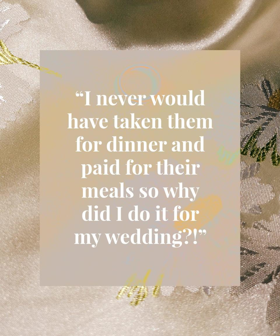 <h2>Leah got married in May 2017<br></h2><br>Looking back I wish I'd invited more of my friends to the daytime and not prioritised family I never see for the sake of my parents. I ended up spending money on those random family members' meals. I never would have taken them for dinner and paid for their meals so why did I do it for my wedding?!<br><br>Our best bit of advice is to hire a videographer. We almost didn't because of expense but we look at the video more than the photographs. Invest in some decent footage. It is timeless and you will never get that moment back. Best money spent!