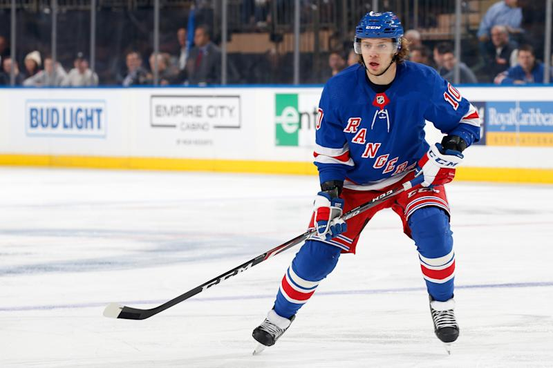 Artemi Panarin #10 of the New York Rangers