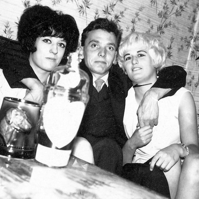 <span> Ian Brady pictured with Myra Hindley and her younger sister Maureen</span> <span>Credit: SWNS </span>